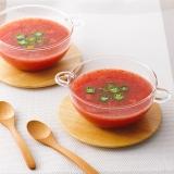 完熟トマトの冷製スープ