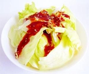 レタスのコチュジャン ハネムーンサラダ