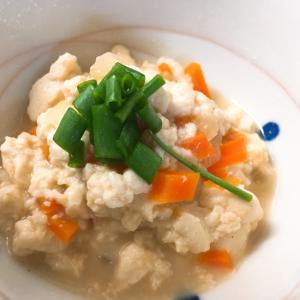 優しい味の簡単炒り豆腐☆