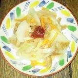 大豆ミートと野菜の煮物 梅醤油味です♪