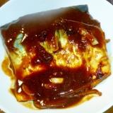 レンジで簡単★さばの味噌煮