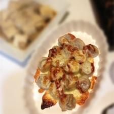 肉巻きこんにゃくのチーズ焼き
