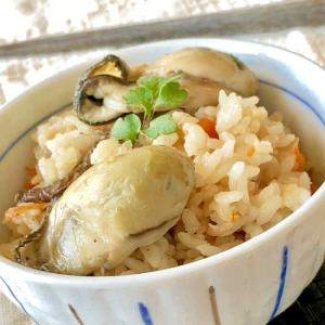 絶品♡牡蠣の炊き込みご飯