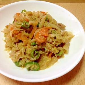 肉野菜の味噌炒め♪