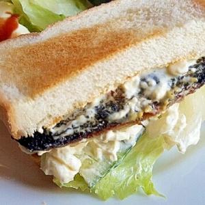 焼き魚をアレンジ☆サワラのサンドイッチ