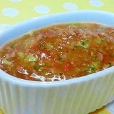 【離乳食】牛ミンチ&ブロッコリーのトマト煮