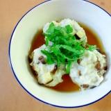 優しい味のお団子❤里芋と椎茸のあんかけ風♪♪