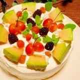 プリンス☆メロンケーキ