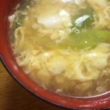 麺つゆで簡単!豆腐と卵のすまし汁