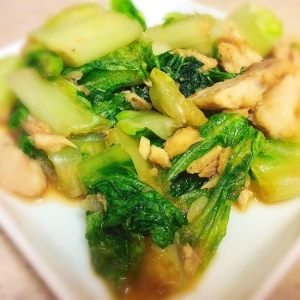簡単☆白菜とツナの煮物