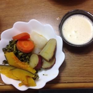 蒸し野菜のバーニャカウダソース