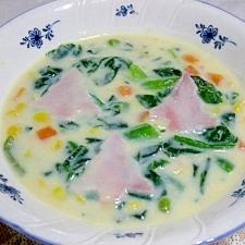 クリスマスコーンスープ