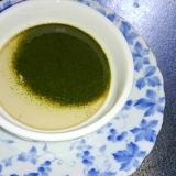 ♪濃厚緑茶のなめらかプリン♪