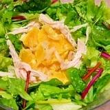 オレンジ酢玉葱☆ベジサラダ