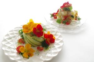 カラフル夏野菜!! の ぷるぷるゼリー寄せ♪