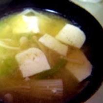えのきの味噌汁