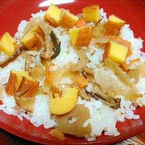 蓮根煮と伊達巻の散らし寿司