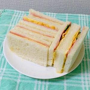 サンドイッチ☆ハム卵☆