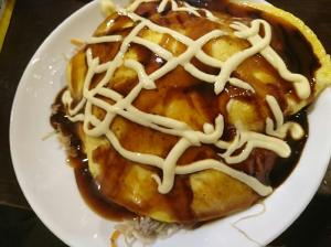 豚挽き肉とキャベツのとんぺい焼き