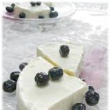 豆乳とクリームチーズで濃厚アイスケーキ