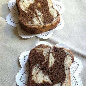 ほろ苦★カフェモカマーブルパウンドケーキ
