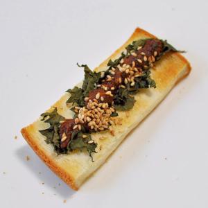 にんにく胡桃味噌&大葉deトースト