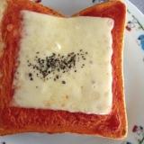 オリーブ香るイタリアンチーズトースト♪