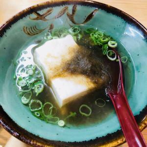 豆腐のとろろ煮