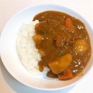 圧力鍋で簡単調理☆ニラとピーマンのポークカレー
