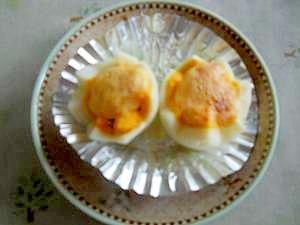 超かんたん!お弁当プチおかず・ゆで卵のマヨ焼き