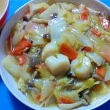 ホタテと白菜の中華煮