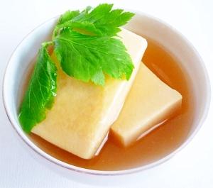 高野豆腐のオイスターソース煮