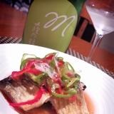 うちバル、秋刀魚のエスカベッシュ