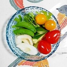 からし菜のサラダ