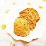シナモン風味♪薄力粉で作るプルーン入りHB御飯パン