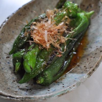 夏の味!万願寺とうがらしで作る簡単副菜