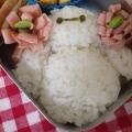 簡単キャラ弁☆ベイマックスのお弁当♪