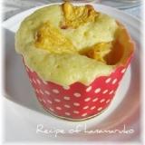 ホットケーキミックスでパインカップ蒸しパン