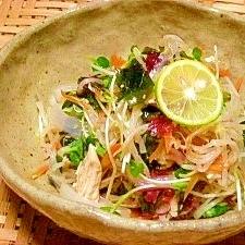 ヘルシー☆モヤシの中華サラダ