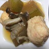 海老団子と冬瓜の煮物