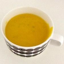 冷製パンプキンスープ