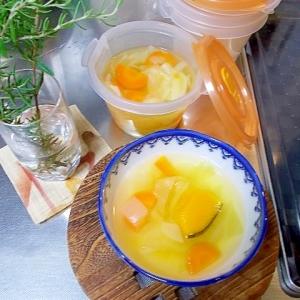 冷凍OK長寿の簡単野菜スープ*免疫力UP&食卓彩る