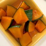 レンジで!かぼちゃの煮物