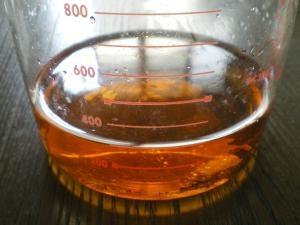 蜂蜜とブランデーのかりん酒