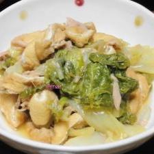 パパッと1品♪白菜・うす揚げ・シーチキン煮