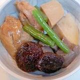 鶏肉と椎茸・さといもの煮もの