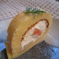 本格的なロールケーキ
