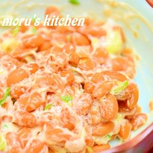 納豆好きの食べ方!シンプルな塩納豆(なっとう)☆
