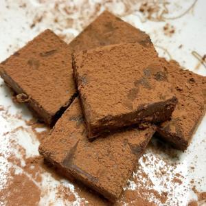 生クリーム不使用の生チョコ