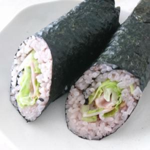 十穀米の巻き寿司